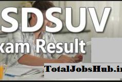 sdsuv result