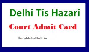 tis hazari admit card