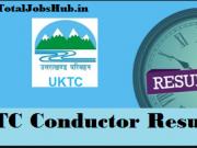 utc conductor result