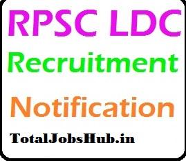 RPSC LDC vacancy