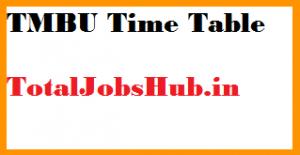 TMBU Time table