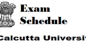 calcutta university exam schedule