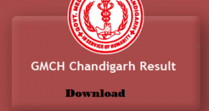 gmch chandigarh result