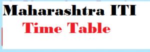 maharashtra iti time table
