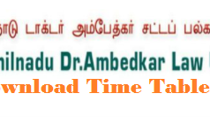 tndalu time table
