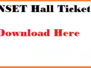tnset hall ticket