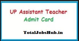 up assistant teacher admit card