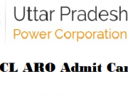 uppcl aro admit card