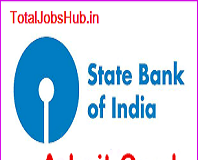 sbi junior associate clerk admit card