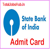 sbi junior associate clerk admit card