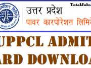 uppcl junior engineer admit card