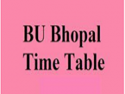 Barkatullah University Time Table