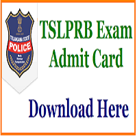 TSLPRB Hall Ticket