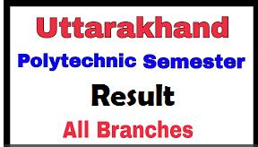 UBTER Polytechnic Result