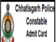 cg police constable admit card