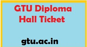 gtu diploma hall ticket