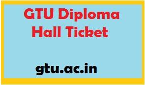 gtu diploma hall ticket