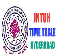 jntu hyderabad time table
