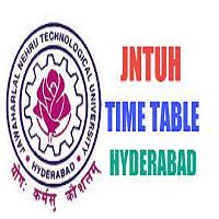 JNTU Hyderabad Time Table 2019 JNTUH M.Tech M.Pharma MBA Exam Date