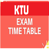 ktu time table