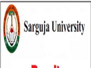 sarguja university result
