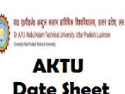 AKTU TIme table