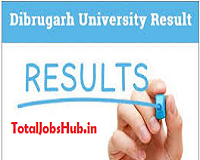 Dibrugarh University Result