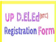 UP D.El.Ed application form