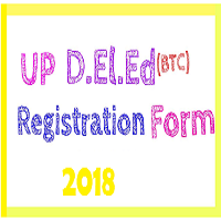 UP D.El.Ed application form