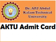 aktu admit card 2018