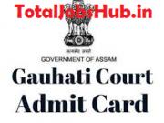 gauhati high court stenographer admit card