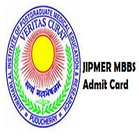 jipmer mbbs admit card