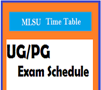 mlsu time table