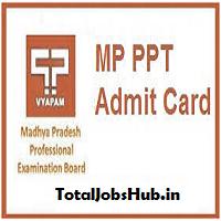 mp ppt admit card