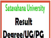 satavahana university results
