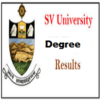 SVU Degree Results 2020 SV University 2nd, 4th, 5th, 6th BA B.Com BSc