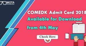 COMEDK Admit Card 2018