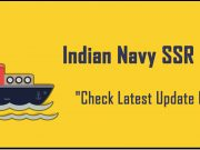 Indian Navy SSR 2018