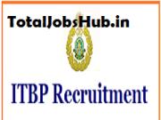 itbp recruitment