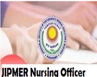 jipmer nursing officer admit card