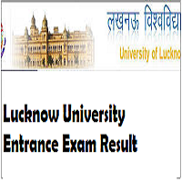 lucknow university entrance exam result