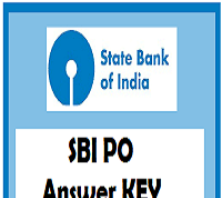 sbi po answer key