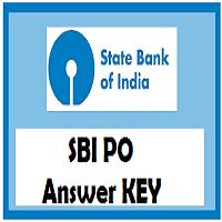 sbi po answer key