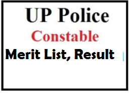 up police constable merit list