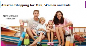 Amazon Shopping for Men Women and Kids.