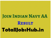 Indian Navy Artificer Apprentice result