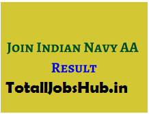 Indian Navy Artificer Apprentice result