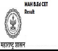 Maharashtra B.Ed CET Result