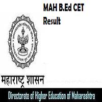 Maharashtra B.ED CET Result 2018 bed.mhpravesh.in Merit List