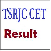 TSRJC CET Results